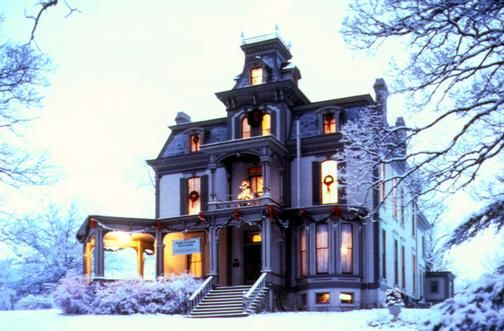 Garth Woodside Mansion - Hannibal, Missouri