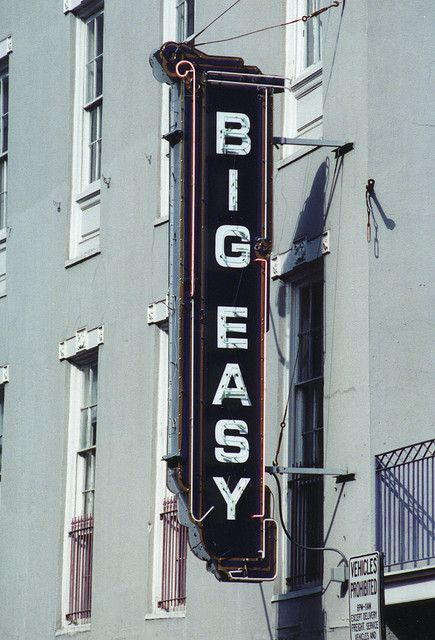 The Big Easy--decadent old place; I do love it. Cried when ...