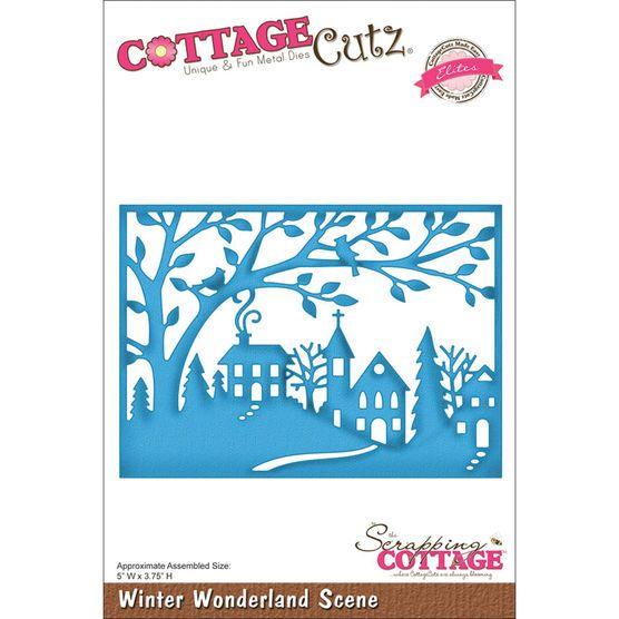 CottageCutz Elites Die Winter Wonderland Scene at Joann.com