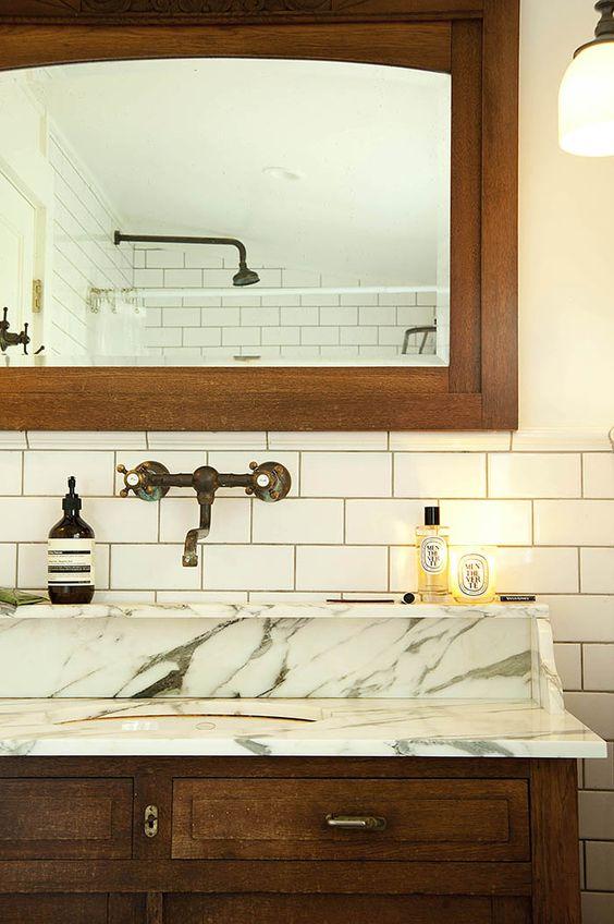 A ghent new york home where green rules design sponge design sponge sneak peeks pinterest - Design sponge bathrooms ...
