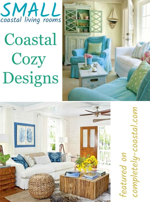 12 Small Coastal Living Room Decor Ideas With Great Style Coastal Living Rooms Small Living Room Design Coastal Decorating Living Room #small #coastal #living #room