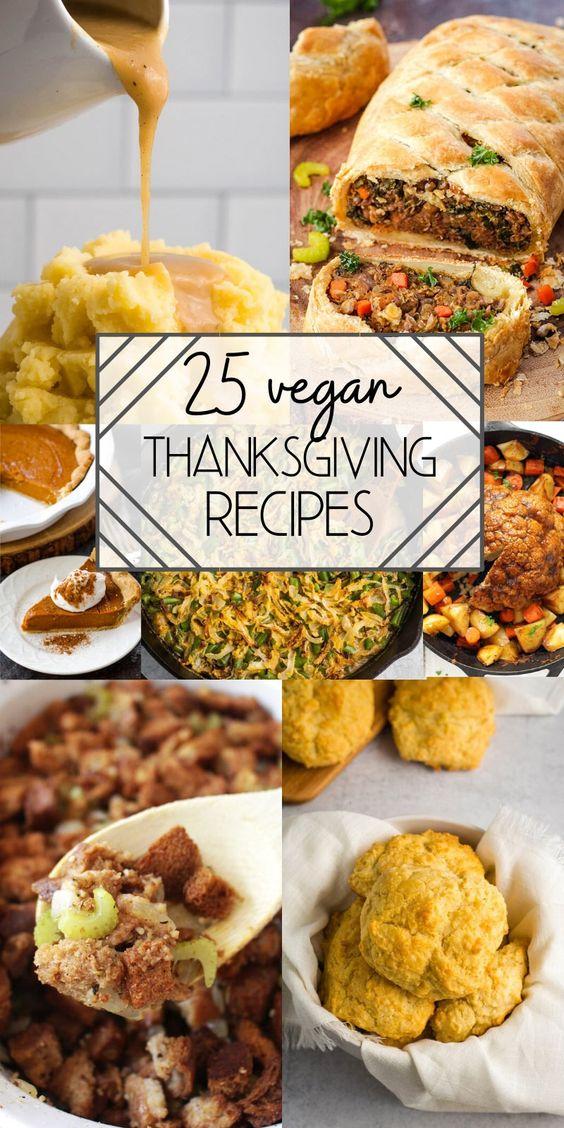 Vegan Thanksgiving Recipes