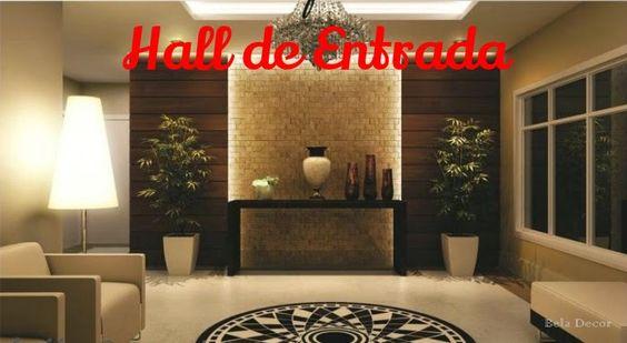 Bela Decor: Hall de Entrada Residencial