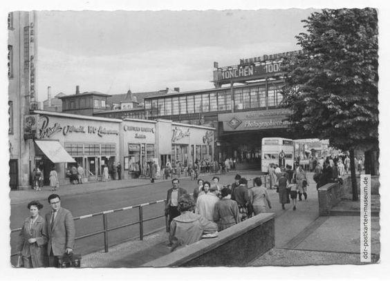 Friedrichstraße, S-Bahnhof - 1961