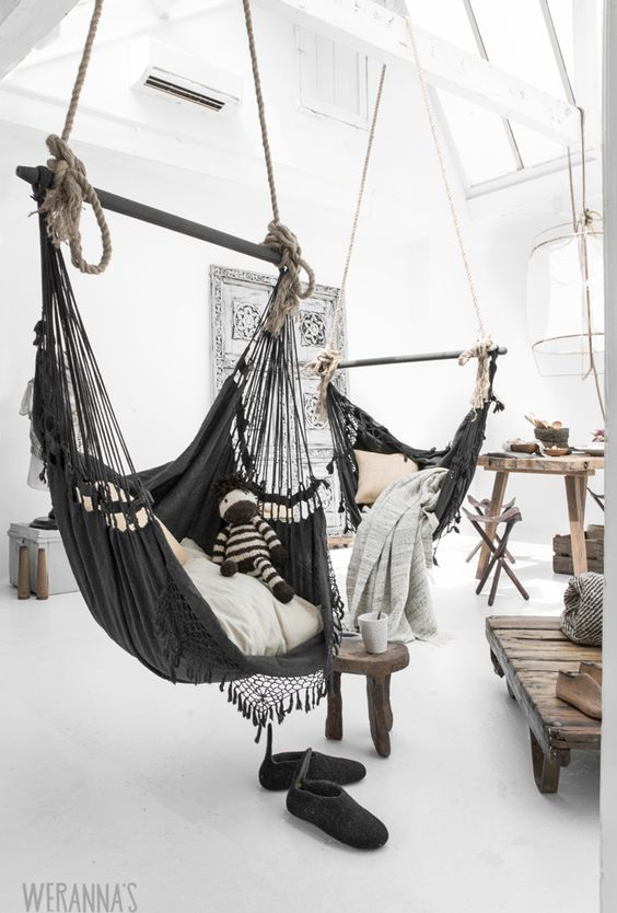 indoor hammocks: