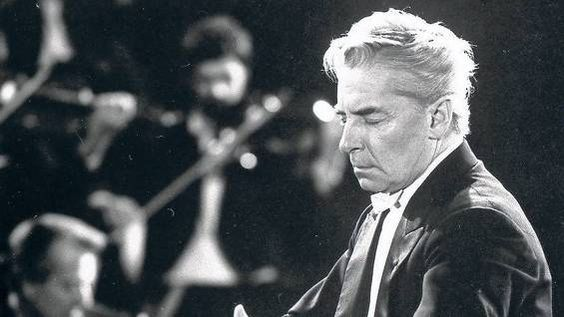 Herbert von Karajan, conductor of the Philharmonic, from 1956 to 1989.
