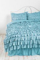 this is perfect!!!!                              Waterfall Ruffle Duvet Cover  #UrbanOutfitters