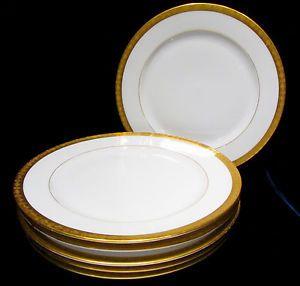 Vintage T & V Limoges France Dinner Plates Set 6 China ...