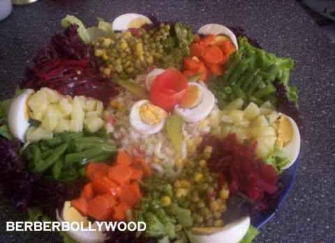 feest salades recepten en foto's