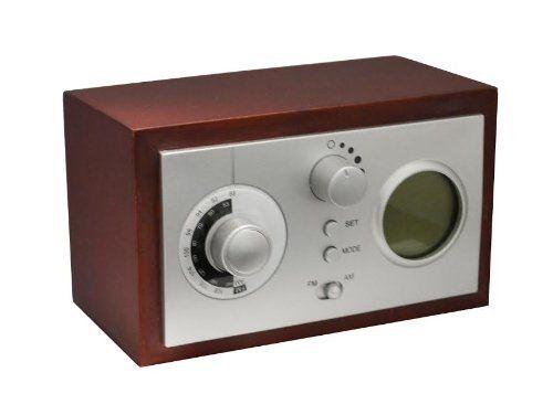 classic retro look alarm clock radio ndc inc. Black Bedroom Furniture Sets. Home Design Ideas