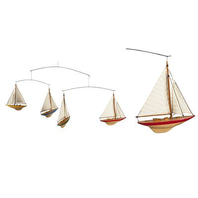 Authentic Models A-Cup Yacht Mobile & Reviews | Wayfair