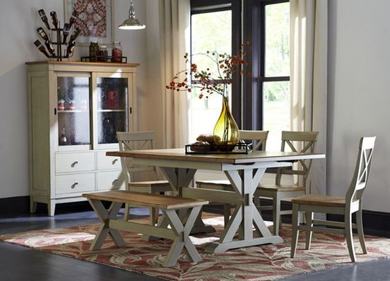 dining rooms, cape may trestle table, dining rooms | havertys, Esstisch ideennn