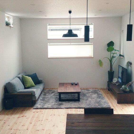 hihoさんの、部屋全体,観葉植物,ラグ,リビングテーブル,masterwal,のお部屋写真