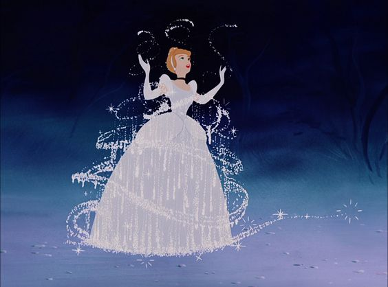 Cinderella getting her ballgown  I want this in a frame on my thigh