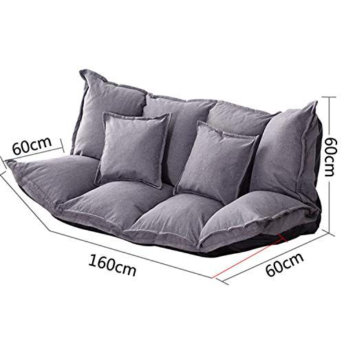 Zzsf Floor Lazy Sofa Bed Lounge Adjustable Foldable Modern Leisure