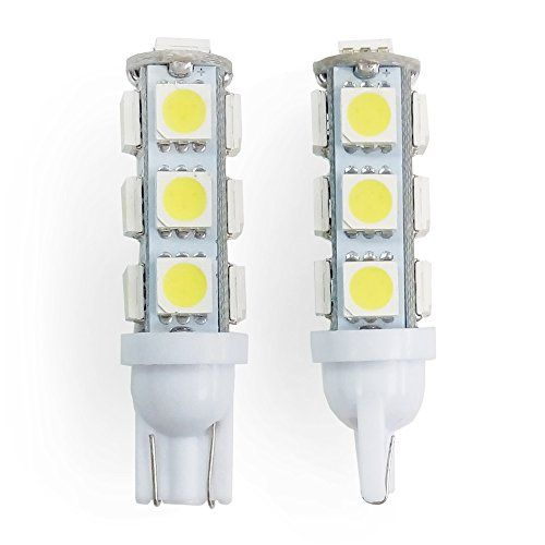 Rv Lighting Two 2 Eco Led Cold White Led 921 Bulb With 13 Smd 5050 Miniature Wedge T10 Connector 921 Cw13m2 Rv Lighting White Lead Bulb