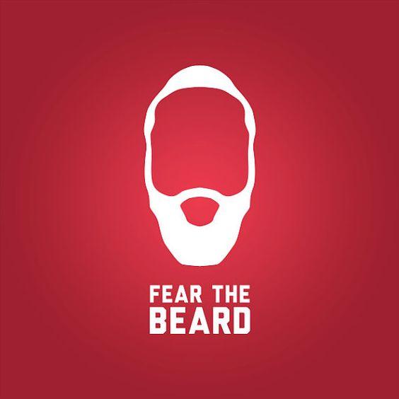 James harden fear the beard logo - photo#2