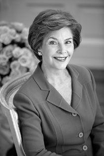 Laura Welch Bush, First Lady 2001-2009
