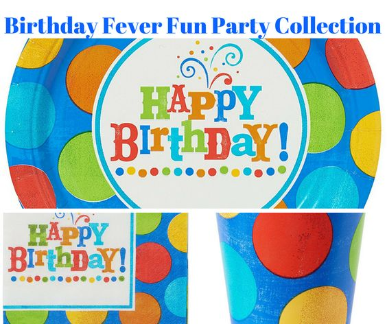 Birthday Fever Fun Party Banner