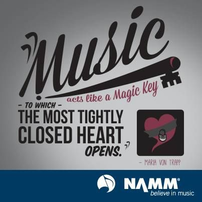 From NAMM's facebook page