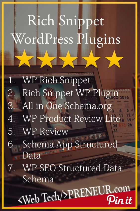 Rich Snippet Plugins for WordPress