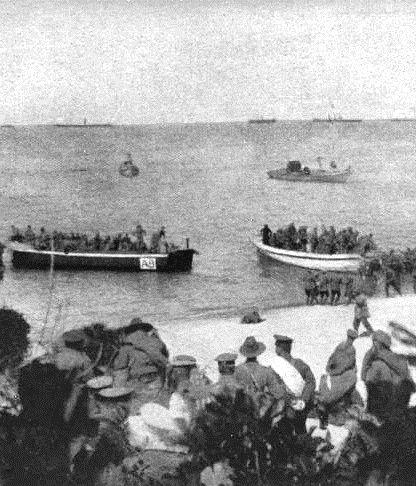 Gallipoli. 25th April. 2015.