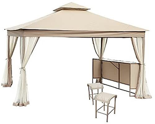 Chic Garden Winds Clayton 10 X 12 Gazebo Replacement Canopy Top Cover Riplock 350 Patio Furniture 163 99 Aristatopshop From To
