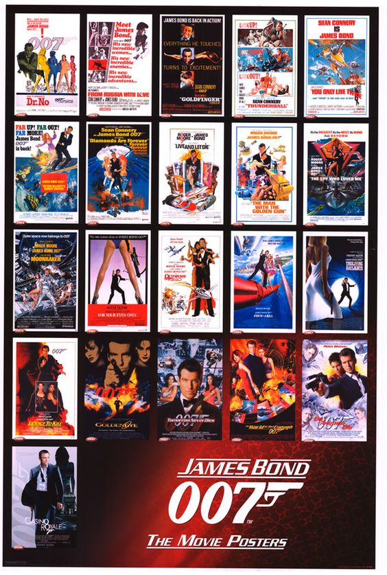 Image Result For All James Bond Movies List Order