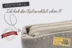 Tutorial: Reißverschluß einnähen ohne Knubbel am Rand {Teil 5} | Stich und Faden | DIY Blog zum Thema Nähen, Sticken, Handmade und Leben