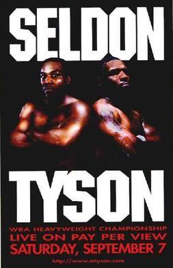 Mike Tyson vs Bruce Seldon