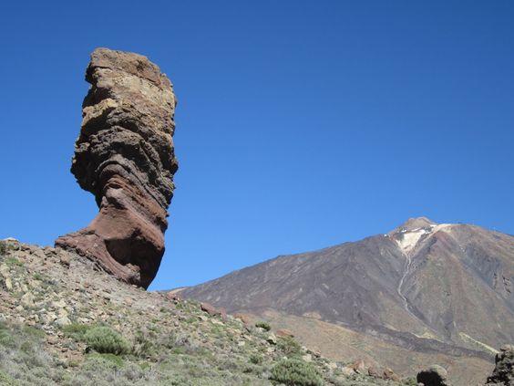 Roques de García, Parque nacional del Teide. La Orotava, Tenerife. Islas Canarias