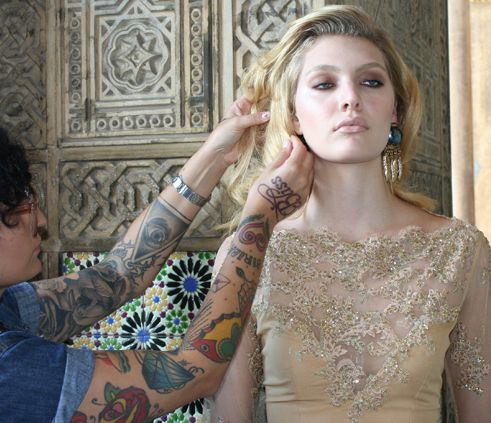 Top Luana Teifke em nova campanha de moda (Foto: Vicente de Paulo)
