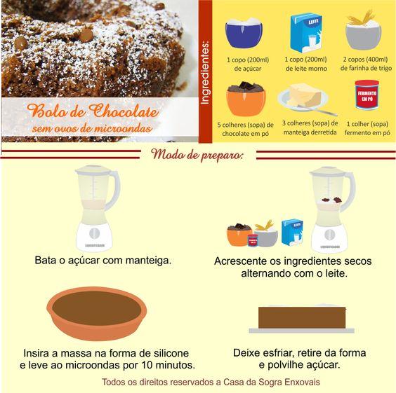 Aprenda a fazer um delicioso BOLO DE CHOCOLATE que NÃO LEVA OVO!!! Confira em nosso blog: http://dicasdacasa.com/bolo-de-chocolate-sem-ovos/