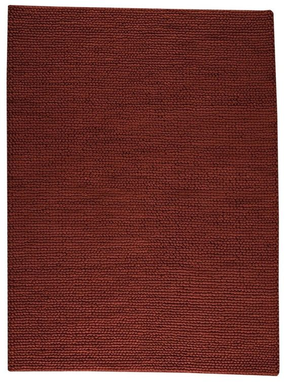 MAT The Basics Ladhak FD-07 dark brown Area Rugs