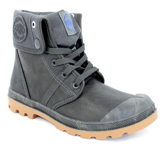 chaussure montante délavée
