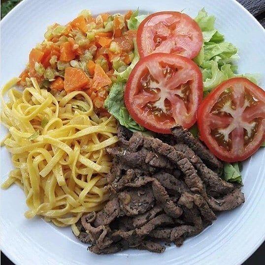 que comer de almuerzo saludable