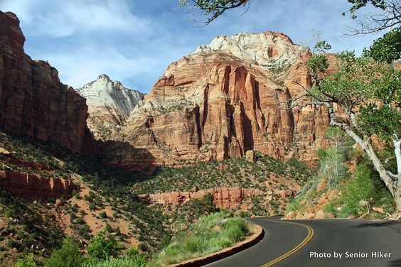 Zion Park Scenic Byway - Route 9