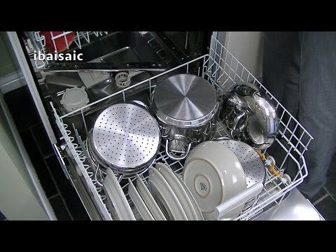 Miele G4203 Sc Active Dishwasher Review Demonstration Youtube Dishwasher Reviews Miele Dishwasher