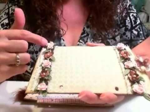 ▶ Shabby Chic Vintage Purse Mini Album - YouTube