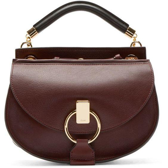 chloe purses - Chloe Purple Leather Goldie Satchel ($1,560) ? liked on Polyvore ...
