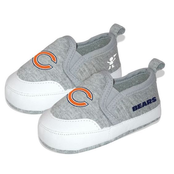 Chicago Bears Pre Walk Baby Toddler Shoes