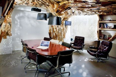 Bear's Cave office by Paul Coudamy