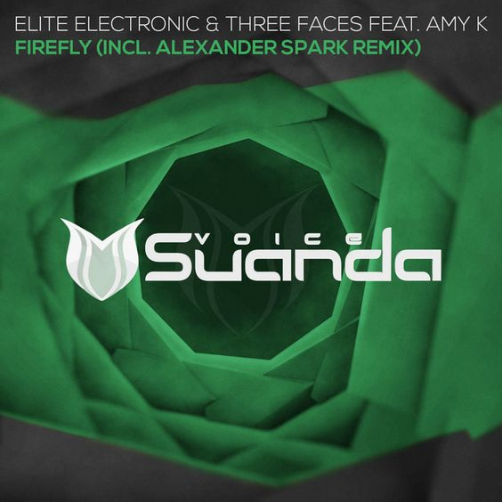 Elite Electronic, Three Faces, Amy K – Firefly (single cover art)