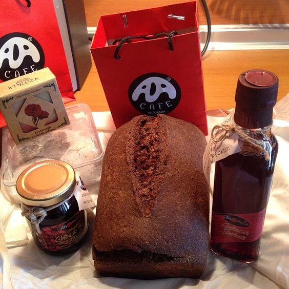 Photo by seydayalvac  Ekşi Maya tam buğday ekmek by Ali K. Erol, Gelincikli Sabun by İmroza, Gelincik reçeli, gelincik şerbeti, gelincikli kurabiye by Ada Cafe®