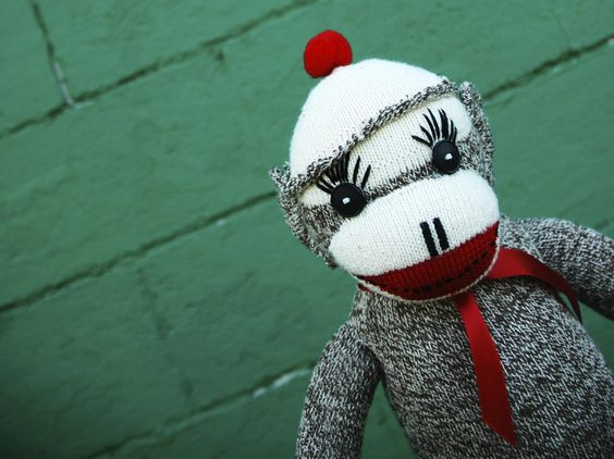 how to make a sock monkey without a sewing machine
