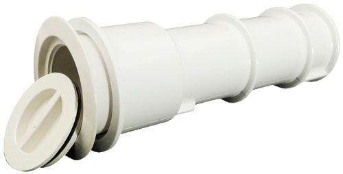 Waterway Volleyball Pole Or Umbrella Sleeve White 540 6700 Umbrella Deck Umbrella Pool Umbrellas