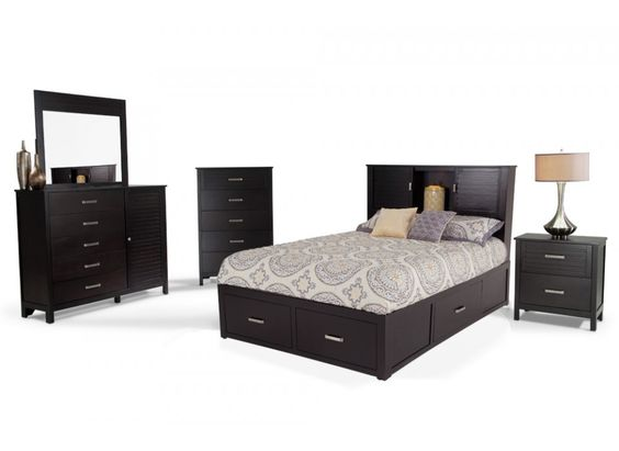 Dalton 8 Piece King Storage Bedroom Set | Bedroom Sets | Bedroom | Bob's Discount Furniture