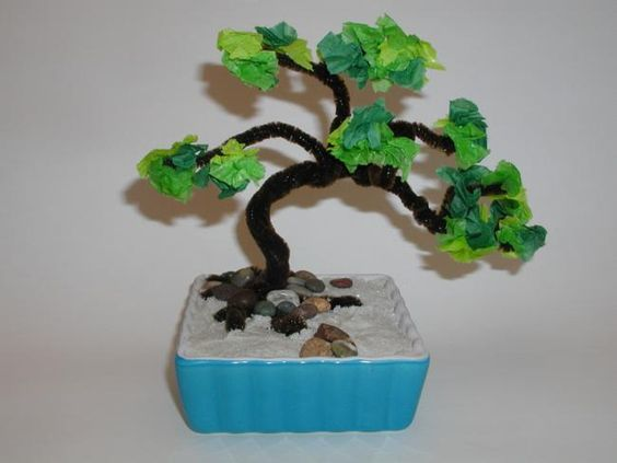 Asia - Japanese Bonsai Tree - Hands On Crafts for Kids: