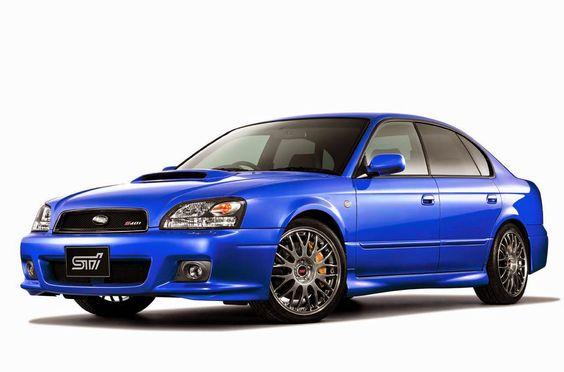 1993 Subaru Legacy STi S401