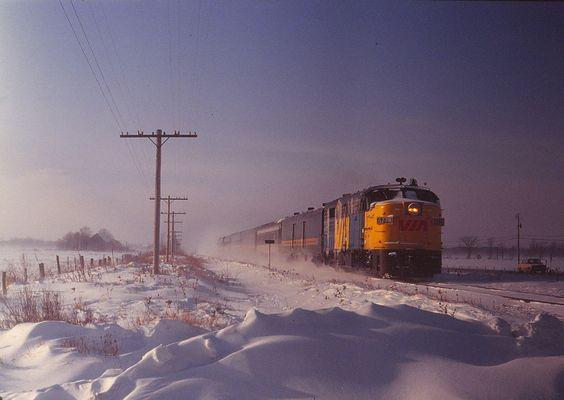1981 Ottawa- Montreal line FPA-4 #6778 | Flickr